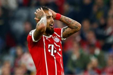 Chelsea suffer Vidal blow