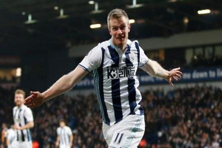 Baggies star considering international future