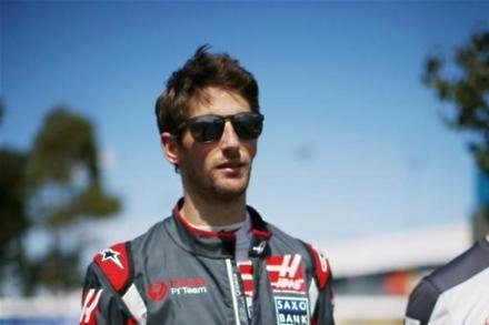 Grosjean delighted with points finish