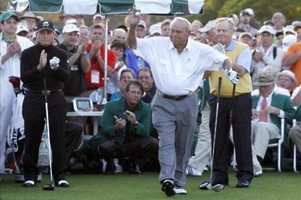 Nicklaus hails 'icon' Palmer