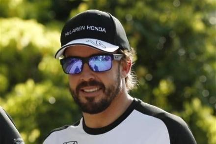 Luck was with me - Alonso