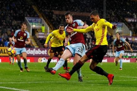 Dyche delighted by duo's displays at Old Trafford