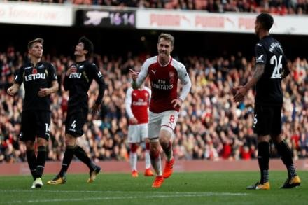 Arsenal without Ramsey for Toon visit