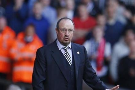 Benitez happy with side going into Newcastle