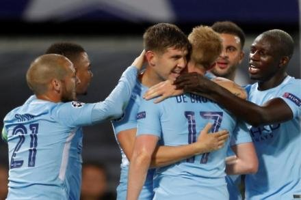 John Stones out of Manchester City's clash with Feyenoord