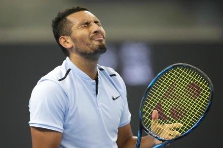 Kyrgios impresses behind improved return