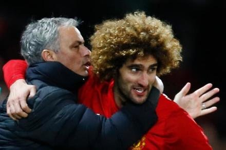 Jose hails Fellaini display