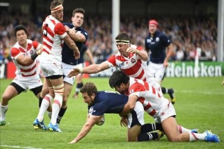 Scotland kick off with Japan victory