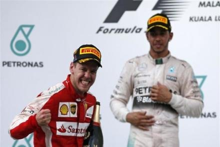 Hamilton excited by Vettel contest