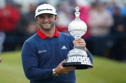Rahm wraps up record Irish Open win