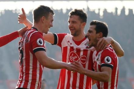 Southgate hails Saints pair
