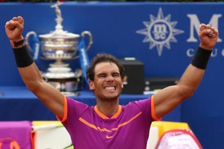 Nadal claims Barcelona crown