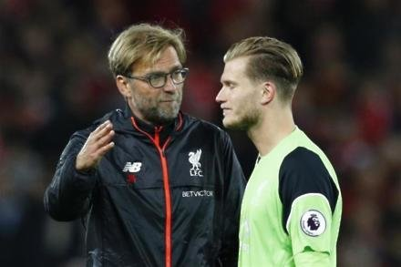 Karius ready for keeper scrap