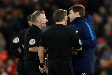Pochettino praise for ref's character