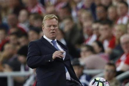Koeman hits out at Toffees
