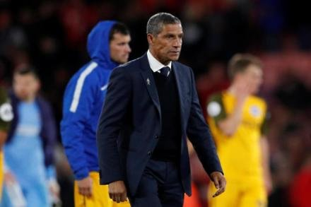 Hughton rues missed chance.
