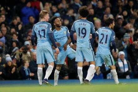 De Bruyne and Sterling in contention for Man City