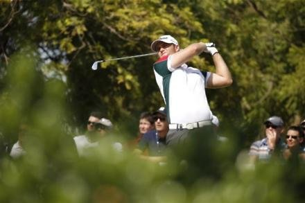 Bjerregaard and Aguilar two clear in China