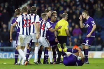 Albion and Spurs charged over Hawthorns clash