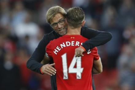 Henderson to miss Liverpool's clash with Swansea