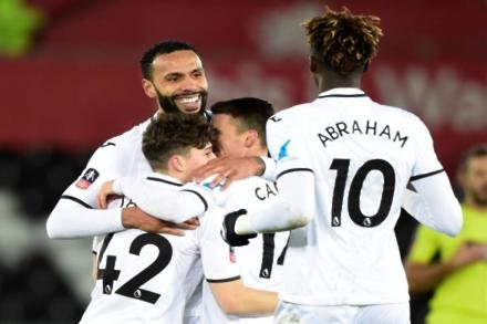 Swansea City 8-1 Notts County