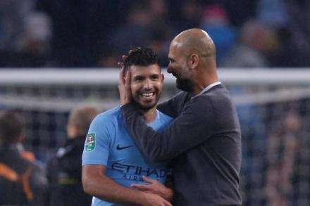 Aguero will decide future says Pep