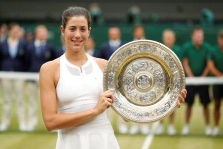 Muguruza not getting carried away