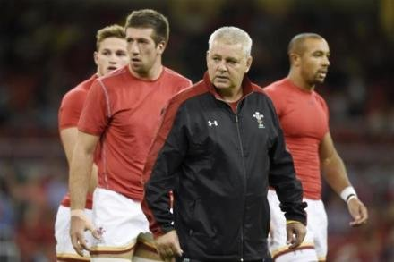 Gatland wants attacking Wales