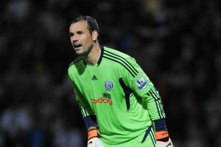 Albion keeper's twitter tribute to Fulop