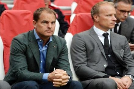 Palace set for De Boer battle