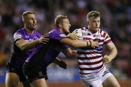Rovers raid Wigan for Farrell