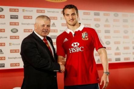 Warburton fit to 'crack on' with Lions