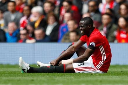 Bailly out for 'two or three months'