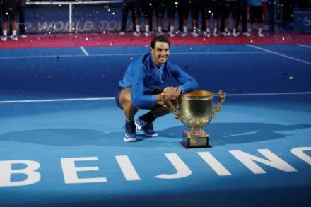 Nadal enjoys China Open success