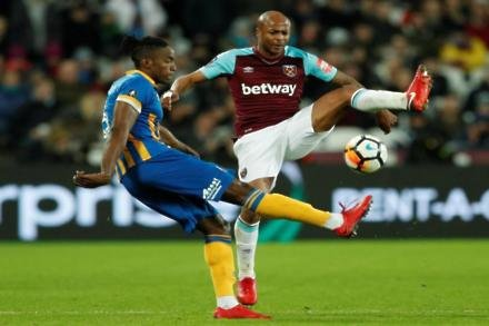 Hammers braced for Ayew interest