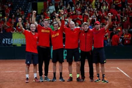 France to meet Belgium in Davis Cup final