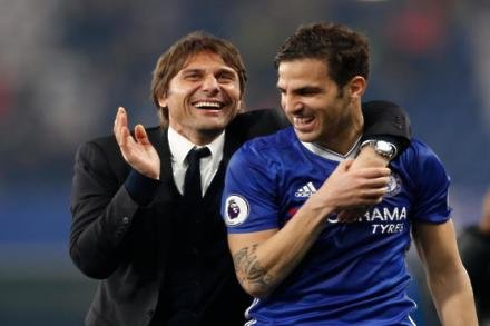 Fabregas happy with rotation policy