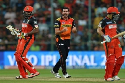 Hyderabad Sunrisers crowned IPL champions