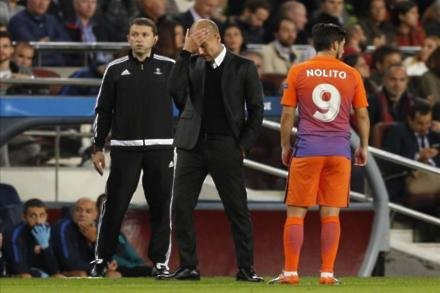 Guardiola issues drubbing defence