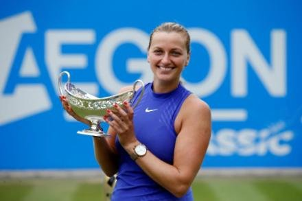 Injured Kvitova out of Eastbourne