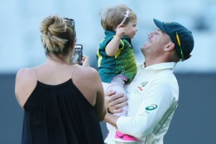 Warner: Family has made me a different person