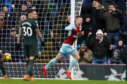 Burnley 1-1 Manchester City