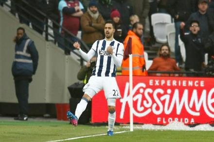 Chadli set for Albion recall