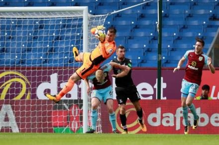 Heaton blow for Clarets