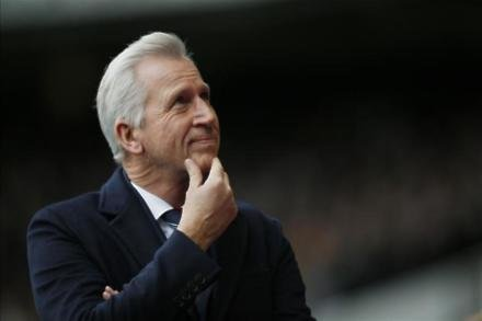Pardew looking up after draw