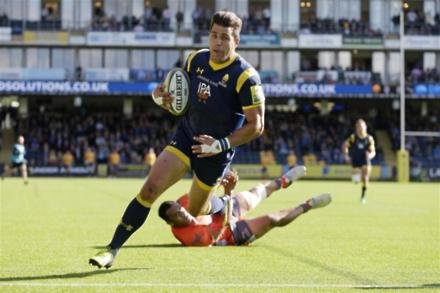 Olivier delighted with Worcester extension