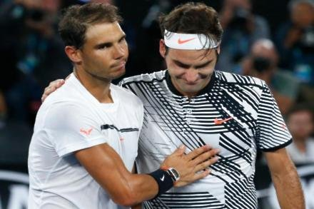 Nadal not interested in matching Federer's record