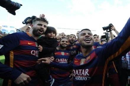Pique: Barcelona had to win it twice