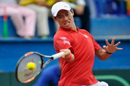 Nishikori brings Japan level