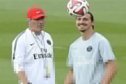 Blanc and Zlatan set for PSG stay